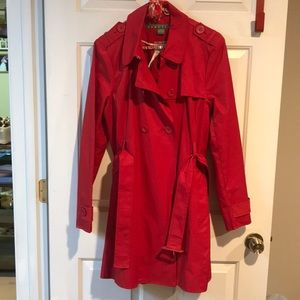 Kenneth Cole reaction rain coat xl Valentine's